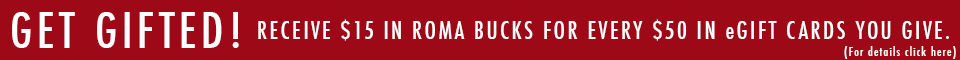 Tony Roma's Roma Bucks Promotion