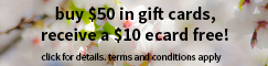 Kona Grill, Inc 2015 Holiday Promo cart banner